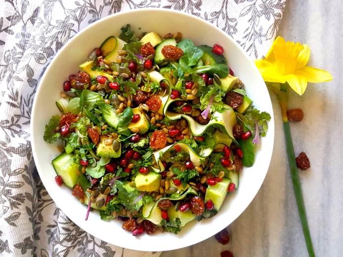 Freekeh salad 1