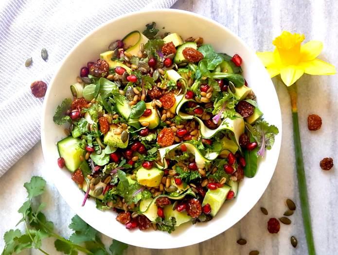 Freekeh salad 3