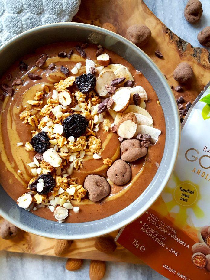Choc oat smoothie 13