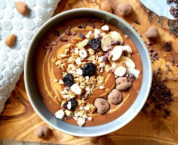 Choc oat smoothie 2