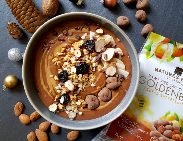 Choc oat smoothie 25