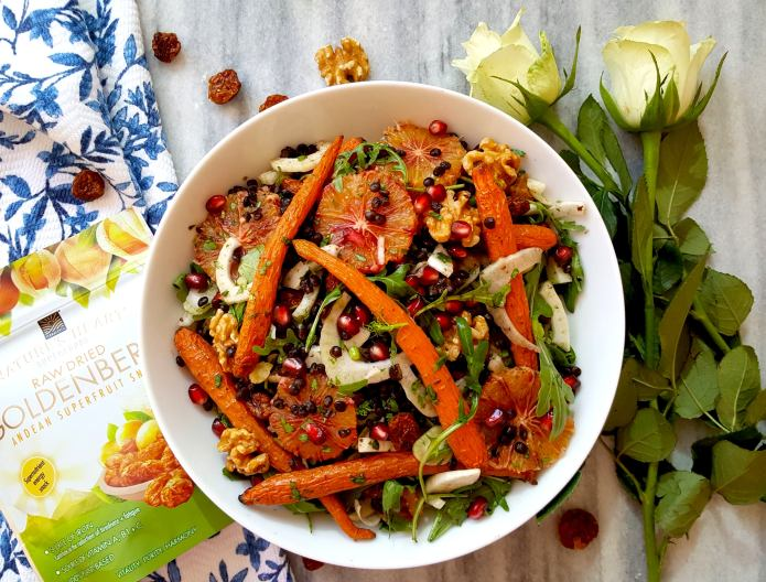Orange salad 4