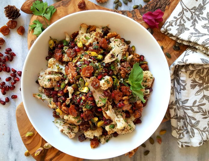 Cauliflower salad 19