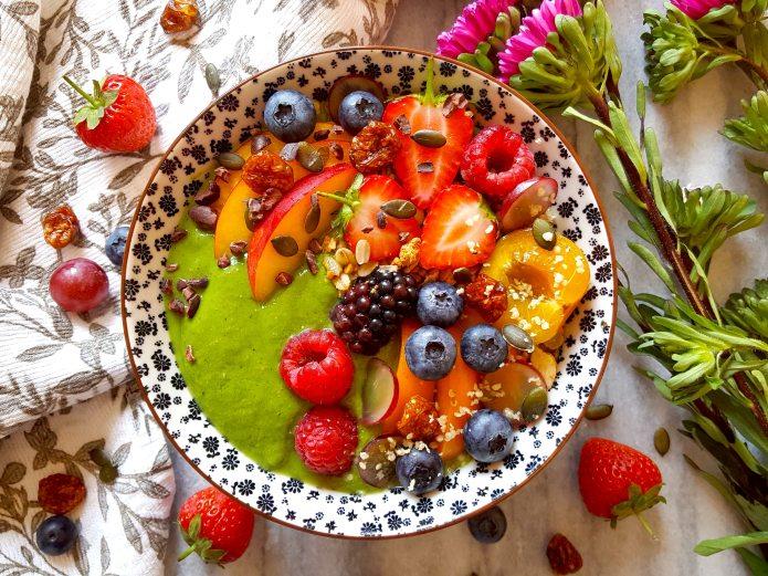 Spring green smoothie 16