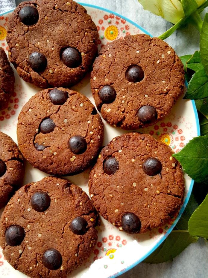 Choc cookies 10