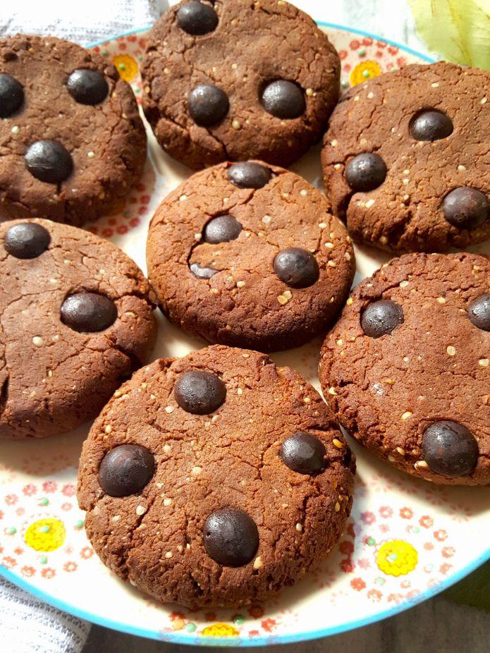 Choc cookies 11