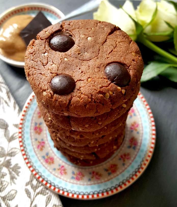 Choc cookies 16