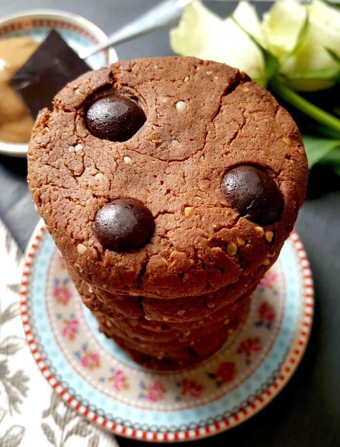 Choc cookies 19
