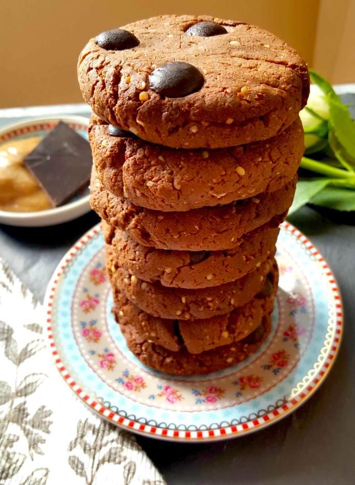 Choc cookies 21