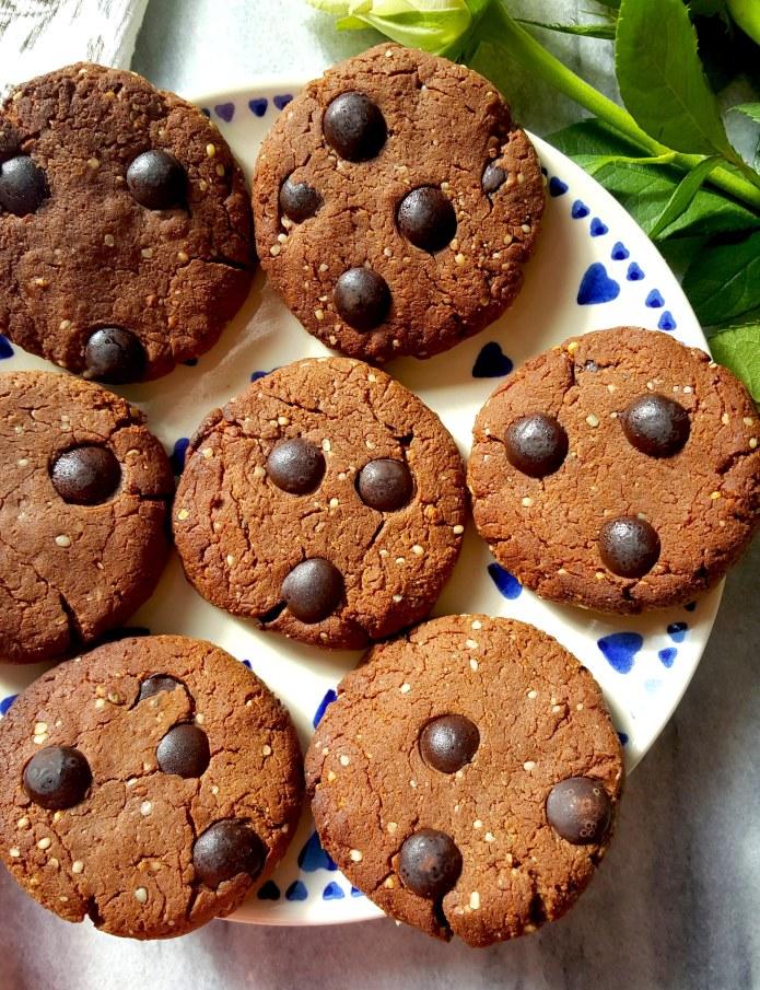 Choc cookies 28