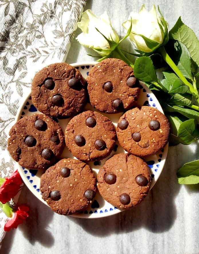 Choc cookies 38