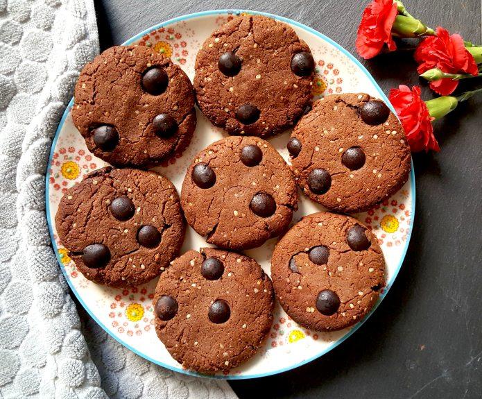 Choc cookies 48